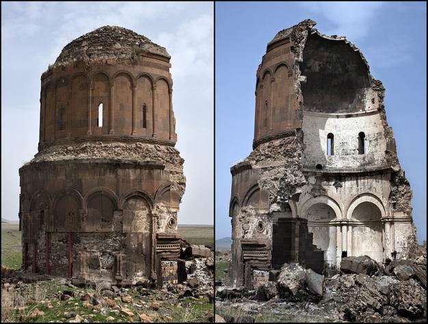 ترکیه بقایای آثار پایتخت باستانی ارمنستان