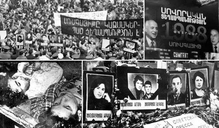 واقعه کشتار ارامنه در سومگاییت 1988