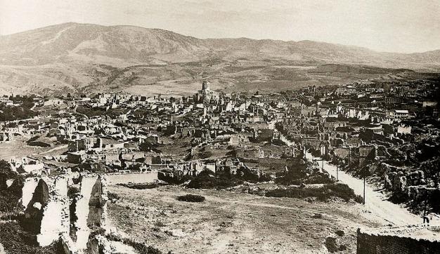 درگیری های ارمنستان و جمهوری آذربایجان بر سر مسئله قراباغ،1919-1918
