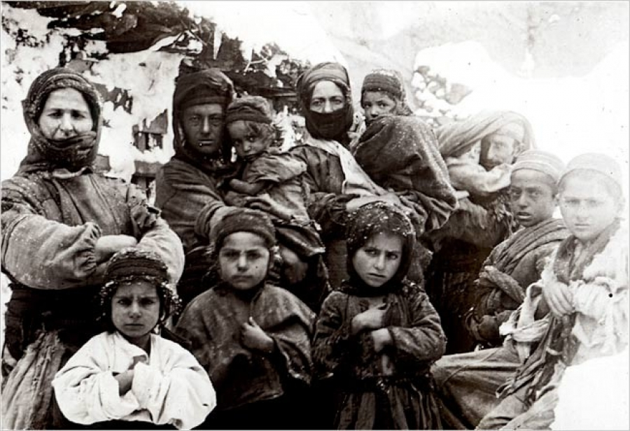 در سال 1915 چه بر سر ارمنيان آمد؟