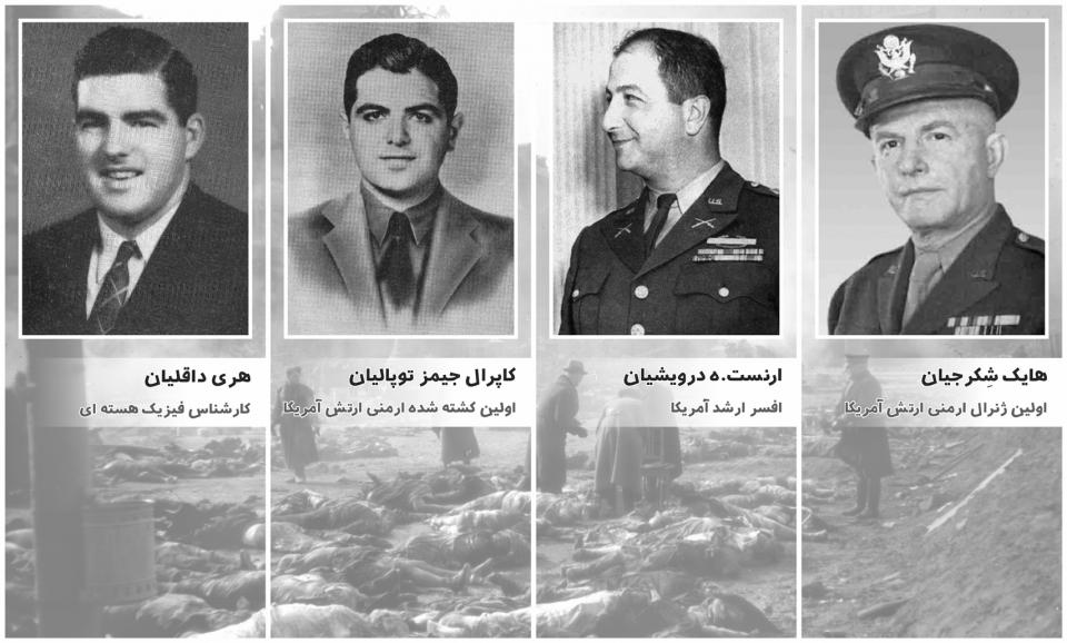 نقش ارمنیان و سربازان ارمنی ارتش ایالات متحده امریکا در جنگ جهانی دوم