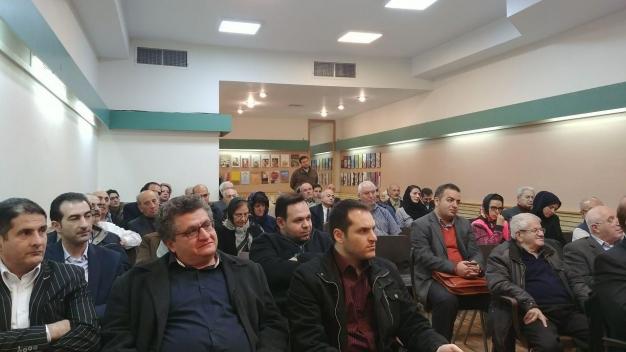 گزارش جلسه سخنرانی، با موضوع بررسی آینده سیاسی منطقه