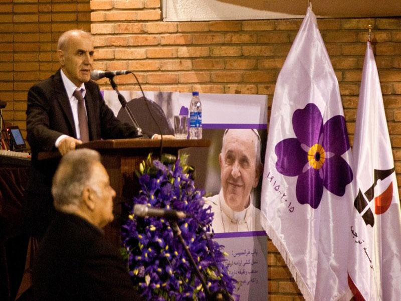 مراسم یادبود یکصدمین سالگرد نژادکشی ارمنیان