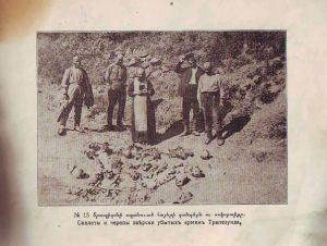 بقایای اجساد در کناره دریای سیاه ۱۹۱۶ عکس از موزه مردم نگاری روسیه