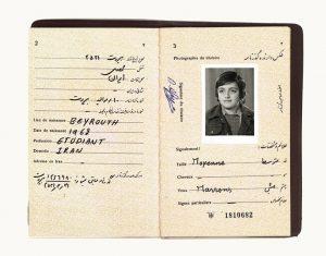 گذرنامه ایرانی نوبار آفیان
