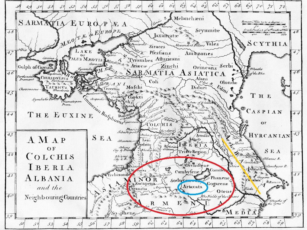 تاریخ قراباغ قسمت اول:آلبانیای قفقاز (اران) جمهوری آذربایجان فعلی