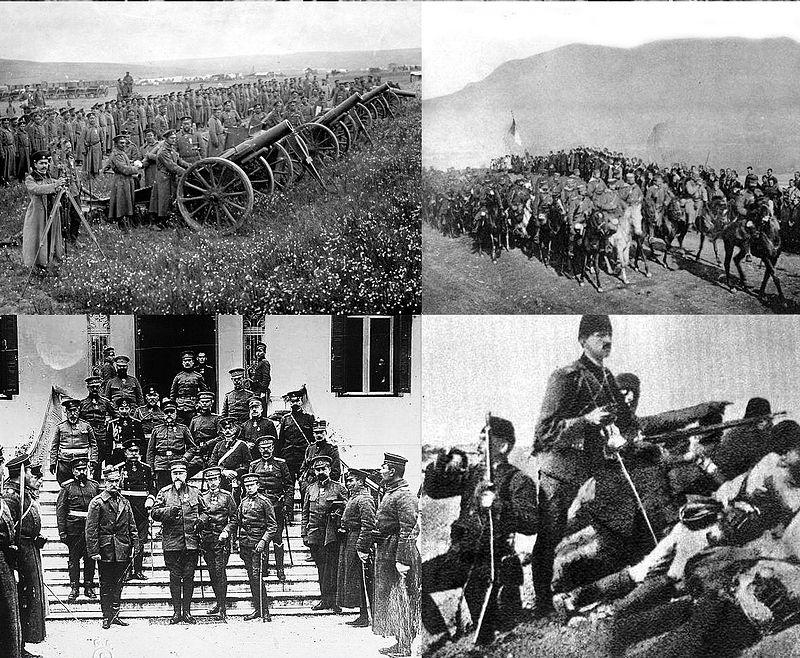 جنگ اول بالکان (بخش اول)