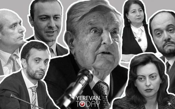نفوذ بنیاد سوروس در ارمنستان